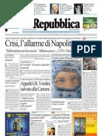 La Repubblica 03.08.11