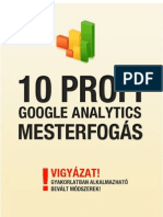 10 Google Analytics Mesterfogas
