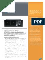 Tait Tb9100 Specsheet Eng v2