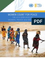 Women Count 4 Peace OpenDays Report En