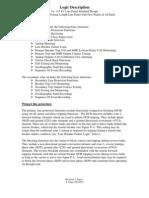 115kv Pnl Stand Logic Descrip - NL 1 BK (Rev 2)