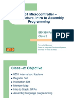 8051 Microcontroller –