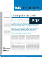 World Bank - Crisis Response Dealing With the Crisis