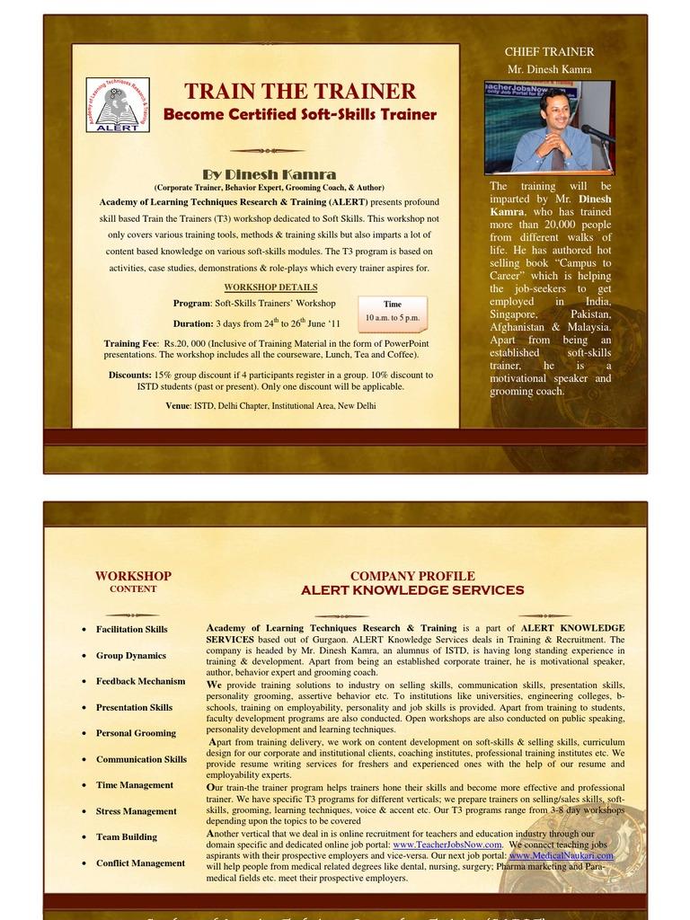 Ttt flyer facilitator sales 1betcityfo Gallery