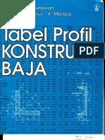 Tabel Profil Konstruksi Baja (1)