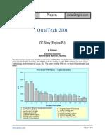 QC Story (Engine PU) - Mahindra