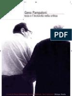 Geno Pampaloni. L'arte della sintesi critica.