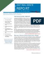 Real Estate Report 2007