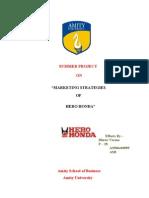 Marketing Strategies of Hero Honda
