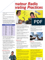 Amateur Radio Good Practice