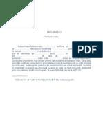 Declaratie Notariala Indeplinire Conditii Credit PRIMA CASA