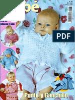 manualidades, ganchillo y punto (crochet) sonia bebé nº 48 patucos, bufandas y manoplas para bebés