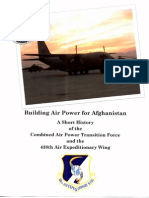 Building Air Power for Afghanistan