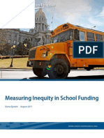 Measuring Inequity in School Funding