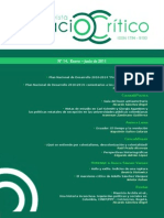 Revista Espacio crítico N°14, enero-junio de 2011