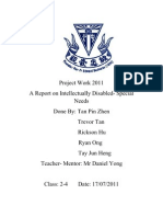 Project Work 2011 Report