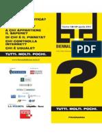 Programma Biennale Democrazia 2011