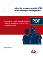 Prevención de VIH en HSH