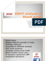 SWOT Analysis of Bharti Airtel
