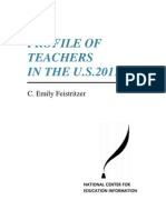PROFILE OF TEACHERS IN THE U.S. 2011