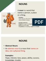 Common Errors in Nouns