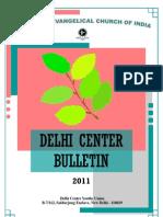 Delhi Center Bulletin 2011