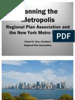 Robert Yaro_Planning the Metropolis