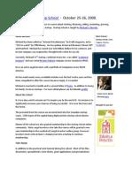startupschool - october 2008 - agenda