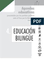 Agenda Educativa Educacion Bilingue