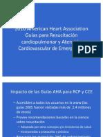 Guías para RCP y ACE
