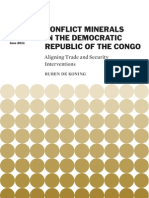 Conflict Minerals in the Democratic Republic of the Congo