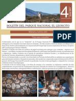 Boletín del Parque Nacional El Leoncito n.4-2011