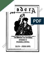 GUERRILLA MADERA N° 2 1972 viejos