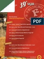 Programma Sagra Pecorino di Filiano 2011