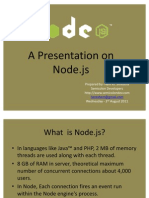 Introduction to Node Js
