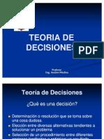 TEORIA DE DECISONES