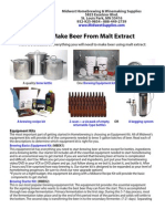How can I brew beer at home?