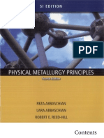 Physical Metallurgy Principals
