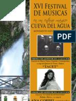 Cartel Cueva Del Agua 2011