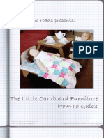 Doll Furniture Instructions