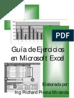 Guia de Ejercicios Excel Completa