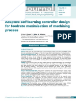 Adaptive Self-learning Controller Design