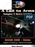 D20 - Babylon 5 - A Call to Arms - Book One - Rules