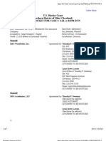IMG WORLDWIDE, INC. et al v. WESTCHESTER FIRE INSURANCE COMPANY Docket