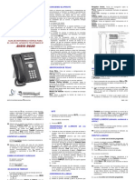Guia Rapida Aparato Telefonico 9620