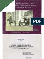 Estudio sobre los circuitos de reciclaje de desechos solidos en la ciudad de Bogotá