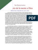 San Buenaventura.itinerario a La Mente de Dios