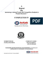 Kotak Muctual Fund PROJECT REPORT