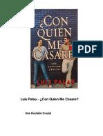 Luis Palau - Con Quien Me Casare