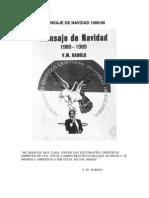 MENSAJE DE NAVIDAD 1988-1989 V.M. RABOLÚ